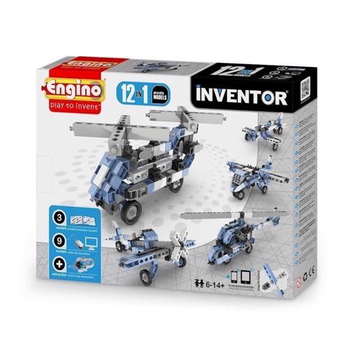 Image of Engino Inventor, 12i1, flyvemaskiner (5291664001211)