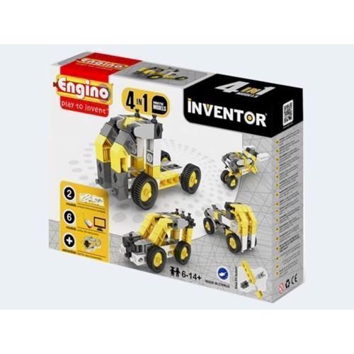 Image of Engino Inventor, 4i1 byggemaskiner (5291664001235)