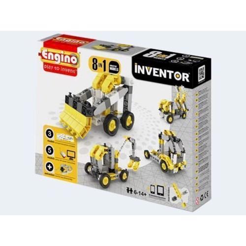 Image of Engino Inventor, 8i1 arbejdsmaskiner (5291664001242)