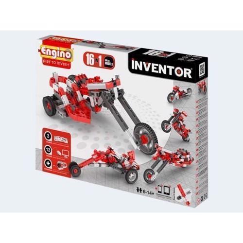 Image of Engino Inventor, 16i1 motorcykler (5291664001303)