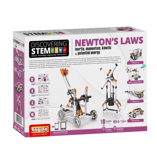 Image of Engino STEM Newtons Laws (5291664001556)