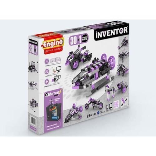Image of Engino Inventor 30i1 adventure modeller med motor (5291664002386)