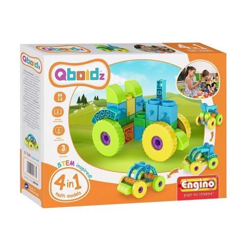 Image of Engino Qboidz, traktor 4i1 (5291664002775)