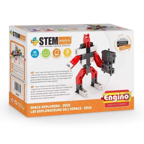 Image of Byggesæt, Engino STEM Heroes Space Explorers - Zeus (5291664003154)