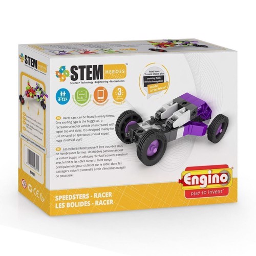 Image of Engino Stem Heroes, Racer Speedster (5291664003192)