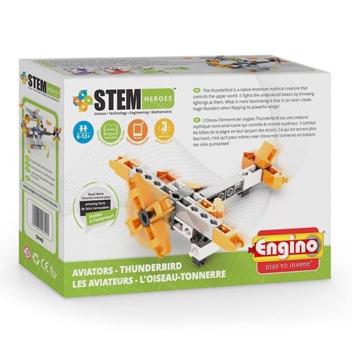 Image of Engino Stem Heroes, Propeller Airplane (5291664003215)