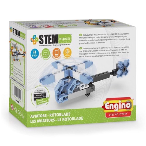 Image of Engino Stem Heroes, helikopter pilot (5291664003222)
