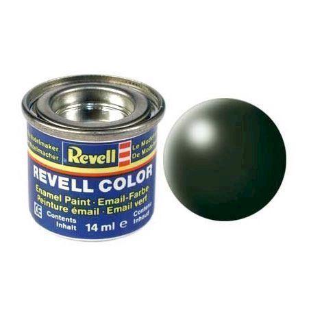 Image of   Revell Byggesæt Maling # 363-mørk grøn, silk Matt