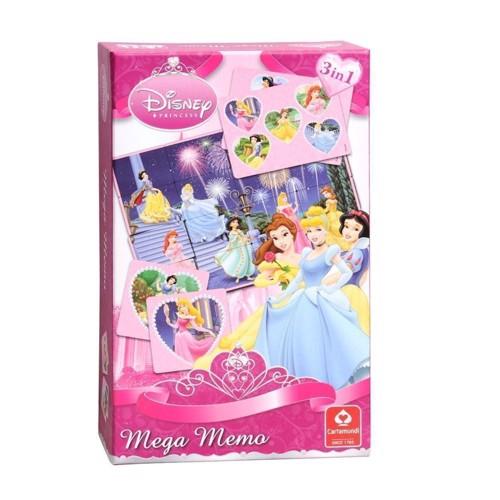 Image of Disney Princess kort spil 3i1
