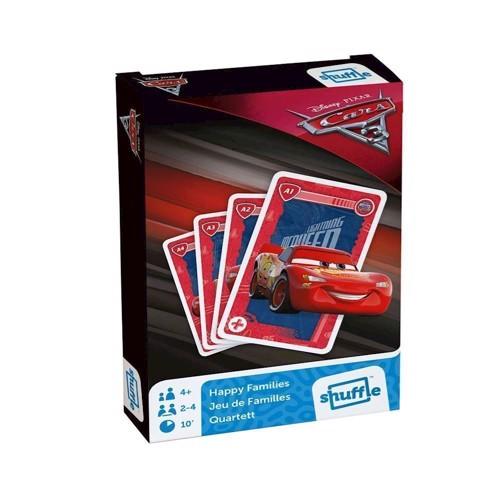 Image of   Cars 3 Quartet kort spil