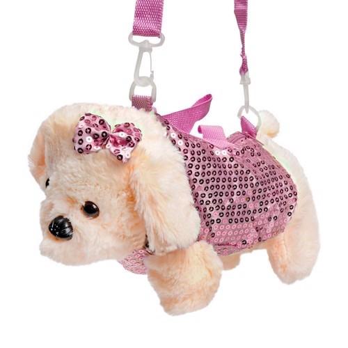 Image of   Glitter taske, hund