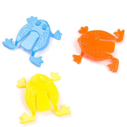 Image of Spring frogs, springende frøer, 3pcs. (5413247049582)