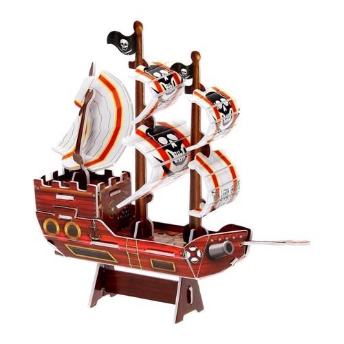Image of   3D byggesæt piratskib