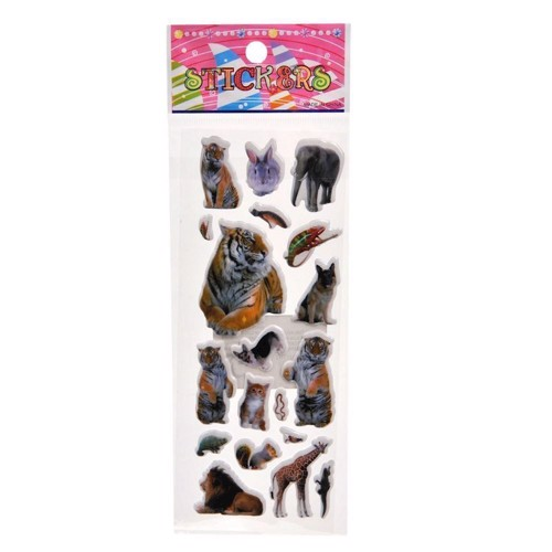 Image of   Klistermærker, Stickers-Animals