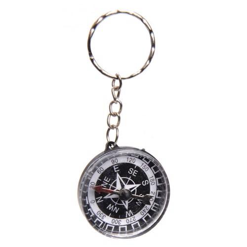 Nøglering - mini kompas