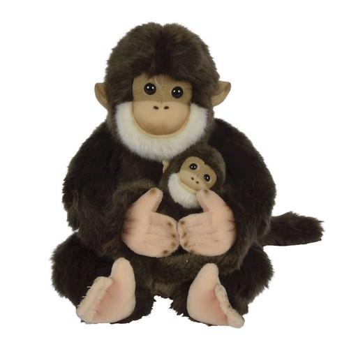 Image of   Bamse, abe med unge 25cm