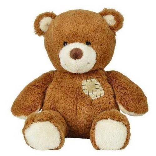 Image of Bamse bjørn med lap (5413538307186)