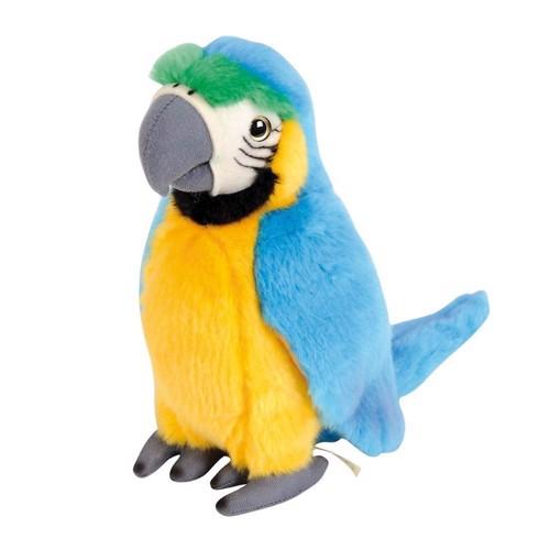 Image of   bamse, blå papegøje