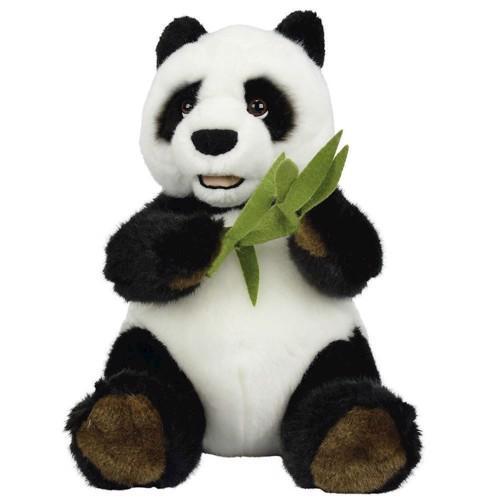 Image of   Bamse, Pandabjørn med bambus