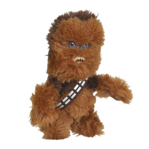 Image of Star Wars bamse Chewbacca, 17cm (5413538720435)