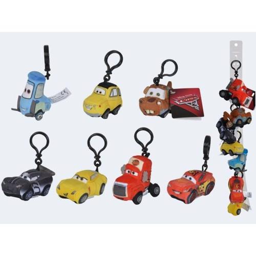 Image of   Disney Pixar Cars nøglering 8cm Pris er pr. stk.