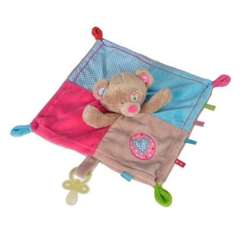 Image of lief! sutteklud med bjørn, lyserød (5413538802162)