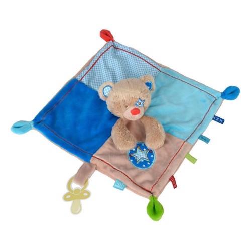 Image of lief! sutteklud med bjørn, blå (5413538802179)