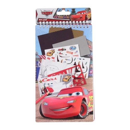 Image of   Cars Tegnebog / notesblok