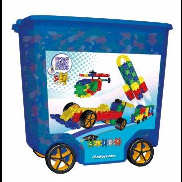 Image of Clics 700 stk i kasse med ekstrahjul (5425002300074)