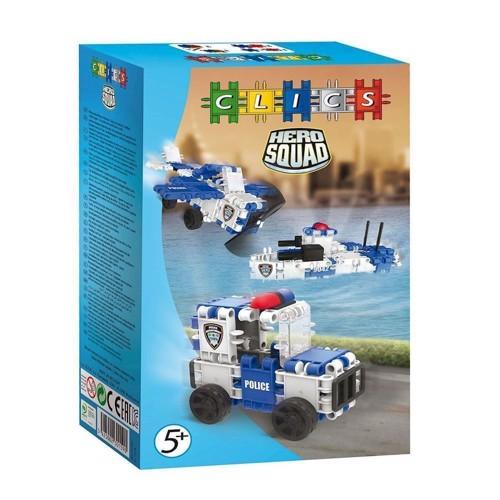 Image of Clics Hero Squad politi 3 i 1 (5425002301590)