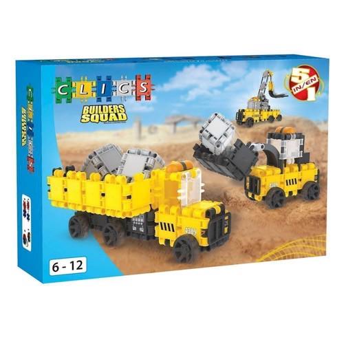 Image of Clics byggeplads byggesæt 5i1 (5425002302597)