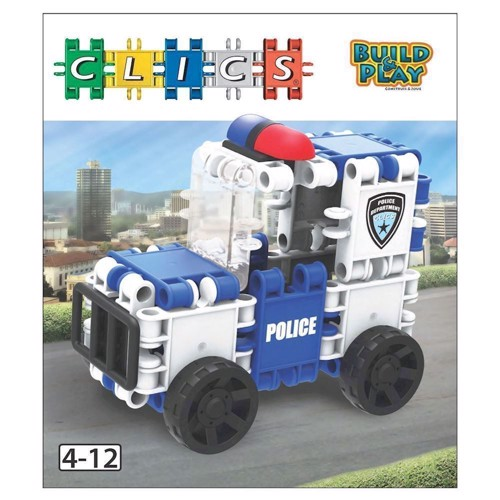 Image of Clics Build &Play - Police (5425002302832)