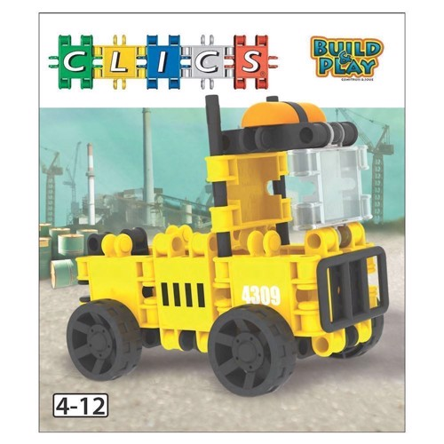 Image of Clics Build &Play - Truck (5425002302870)