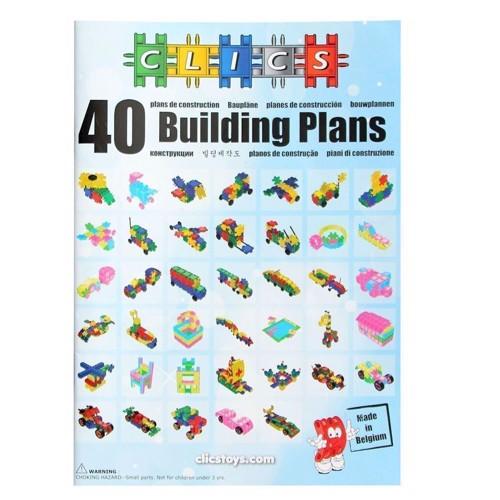 Image of Clics byggeplaner stor inspirations bog (5425002309473)