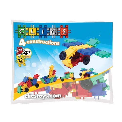 Image of Build Clics &play, 4 in 1 (5425002309589)