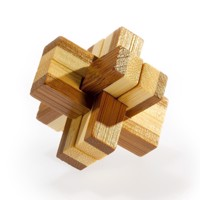 3D Bamboo Brain puzzle Knotty ***