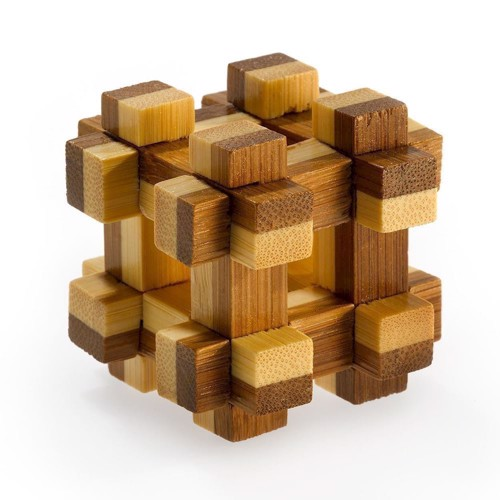 Image of   3D Bamboo Brain puzzle Prison House ****