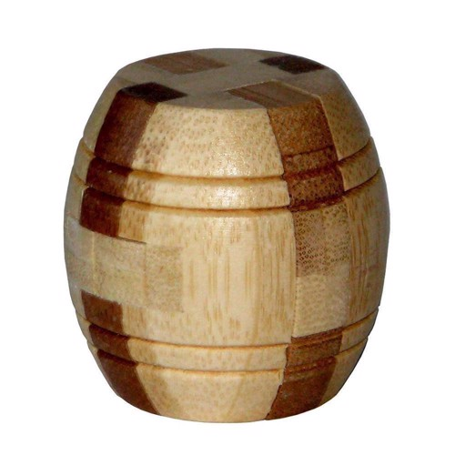Image of   3D Bamboo Brain puzzle Barrel ***