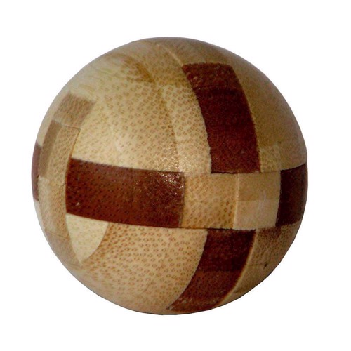 Image of   3D Bamboo Brain puzzle Ball ***