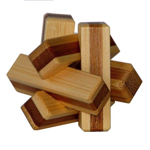 Image of   3D Bamboo Brain puzzle Firewood **