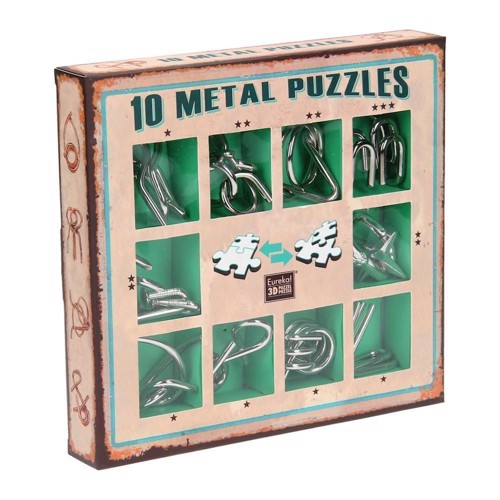 Image of   Breinpuzzelset Green, 10pcs.