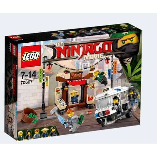 Image of   Lego Ninjago Movie 70607 jagt i byen
