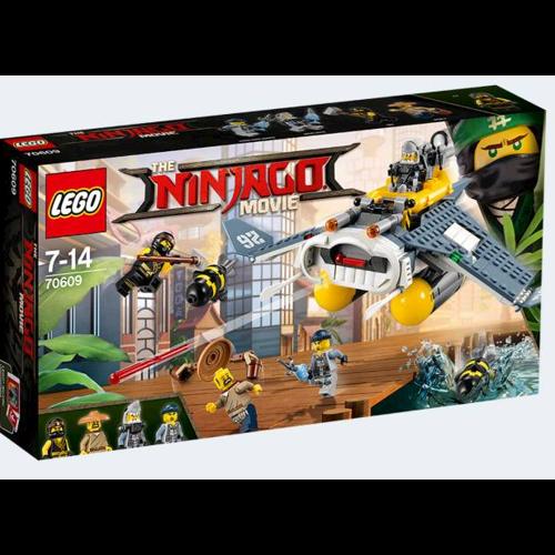 Image of Lego Ninjago Movie 70609 Manta Ray Bomber (5702015592468)
