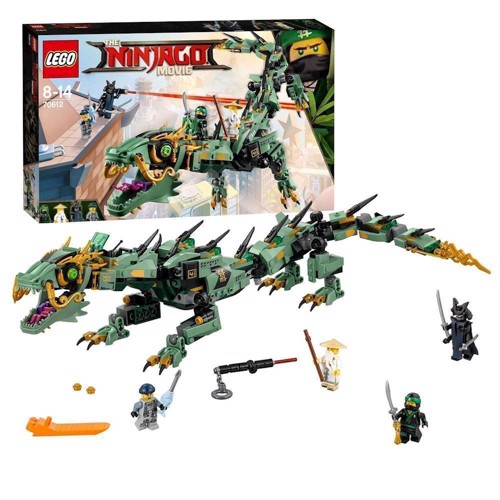 Lego Ninjago Movie 70612 grøn ninja drage