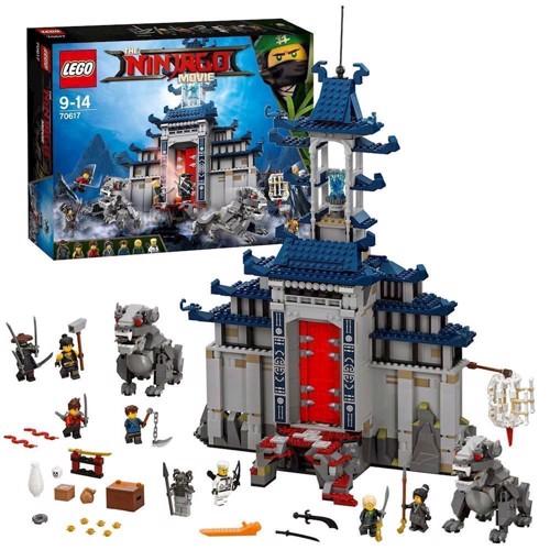 Image of Lego Ninjago Movie 70617 det ultimative våben tempel (5702015592628)