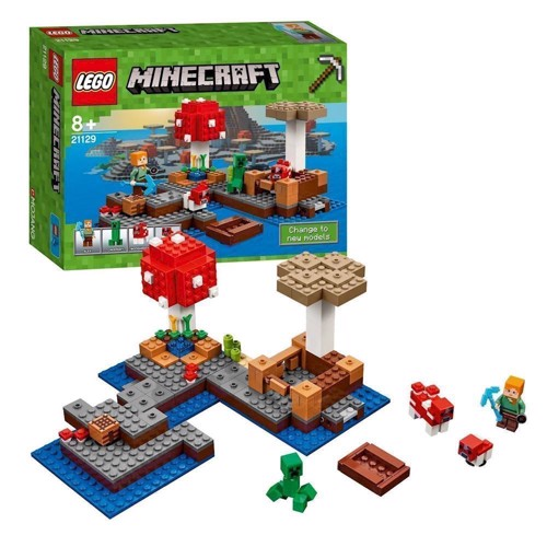 Image of Lego 21129 Svampe-øen (5702015865449)
