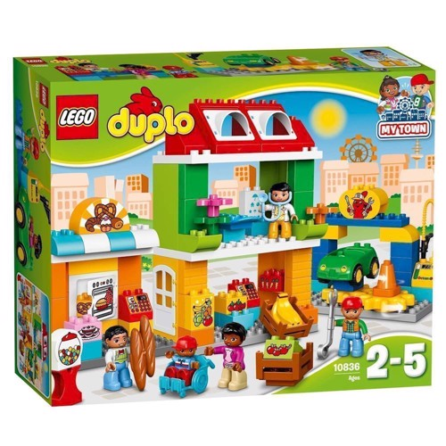 Image of   Lego 10836 Bytorvet