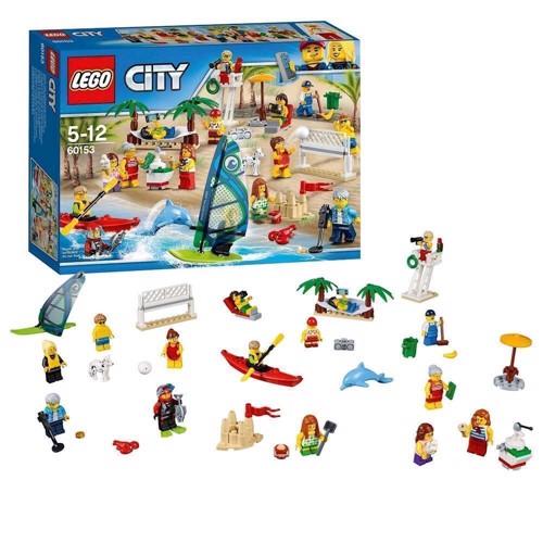 Lego 60153 en dag ved stranden, City