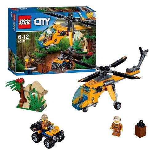 Lego 60158 jungle helikopter, City