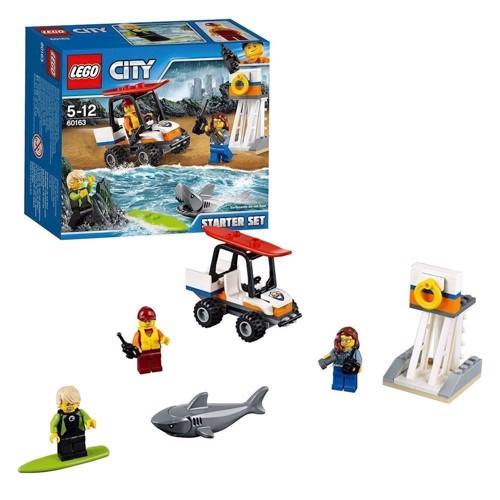 Lego 60163, kyst vagt startsæt, City